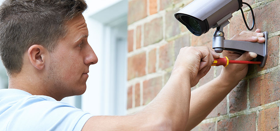Kameraövervakning till hemmet